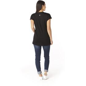 Smartwool Merino Sport 150 Mountains and Sea Kurzarm T-Shirt Damen black